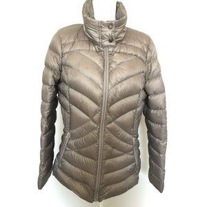 A.N.A Jacket Down Puffer Lightweight Packable Tan